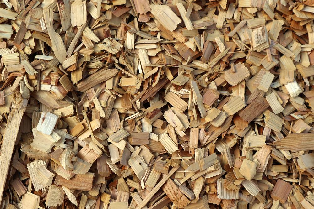 木材チップのテクスチャ