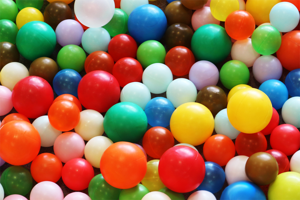 カラーボールのテクスチャ